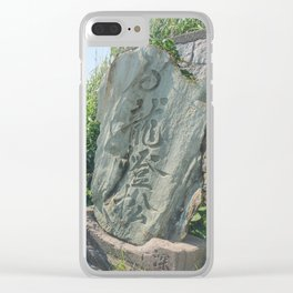 Ethereal Enoshima I Clear iPhone Case