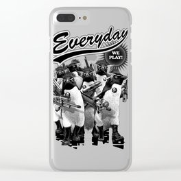 EVERYDAY WE PLAY Clear iPhone Case