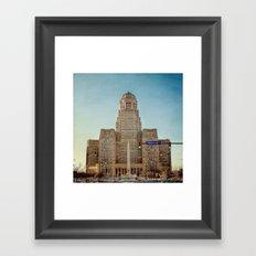 Down Town City Hall Buffalo NY Framed Art Print