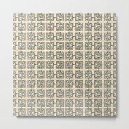 $ Dollar Bill / pattern Metal Print