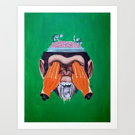 Welcome To My Mind Art Print