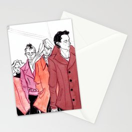A Study in Scarlet by Kat Mills Stationery Cards