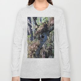 The Mysterious Inhabitant Long Sleeve T-shirt