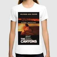 "lindsay lohan T-shirts featuring Lindsay Lohan ""The Canyons"" French Film Poster by Eric Terino"