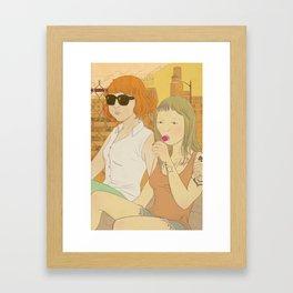 Urban Girls Framed Art Print