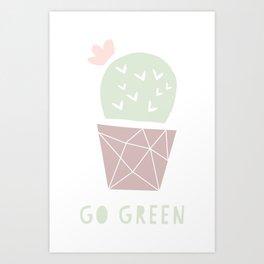 Cactus Company Art Print