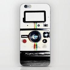 Shake it like a Polaroid picture iPhone Skin