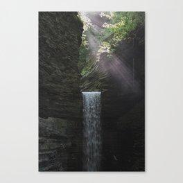 Sunbeams at Watkins Glen Canvas Print