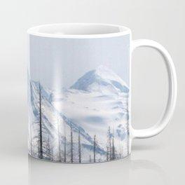 Snow On The Three Sisters Mountains 282 Coffee Mug
