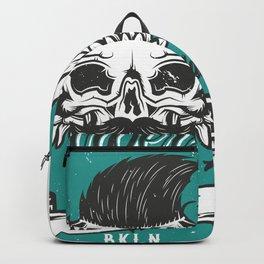 Barber Shop New York Backpack
