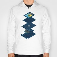 blueprint Hoodies featuring Blueprint Waka-Waka by Manny Peters Art & Design