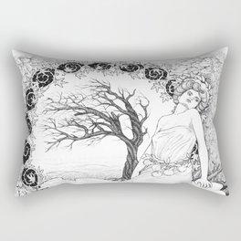 Allegory of Autumn (Fall) Rectangular Pillow