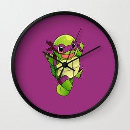 TMNT_POKET_MONSTER_purple Wall Clock