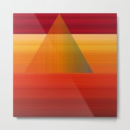 Energy Transmission Metal Print