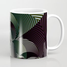 Life in geometric shapes Coffee Mug