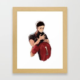 kurodai (2) Framed Art Print