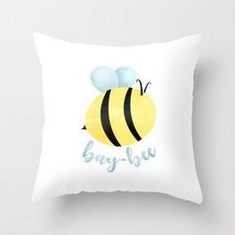Bay-Bee Throw Pillow
