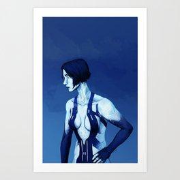 Cortana Art Print