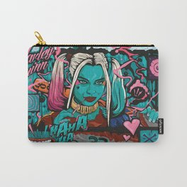 Suicide Squad Harley Quinn Comic Book Movie Artwork Carry-All Pouch