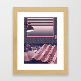Quiet Desk Framed Art Print