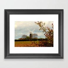 Bircham Windmill Framed Art Print