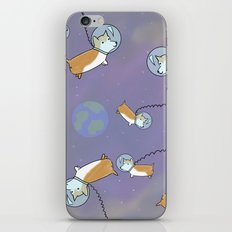 Puppies In Space iPhone & iPod Skin