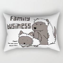 Family Business Rectangular Pillow