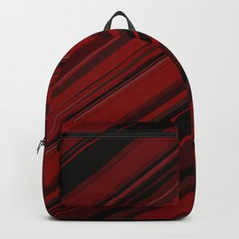 Red abstract Backpack