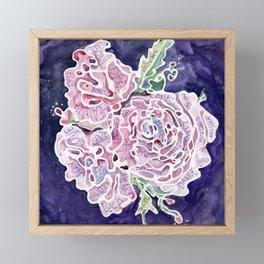 Helena's Healing Roses Framed Mini Art Print