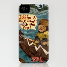 Postcard from Lewis + Clark iPhone (4, 4s) Slim Case
