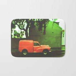 Red Car Bath Mat