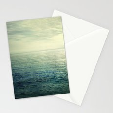 Calm at the summer sea Stationery Cards