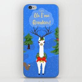 Lla I'ma Reindeer iPhone Skin