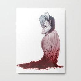 Love suicide Metal Print