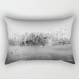 A través del cristal (black and white version) Rectangular Pillow