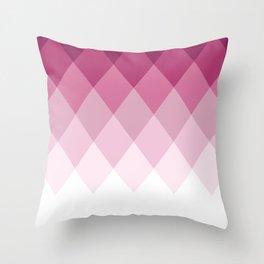 Rose Diamonds Throw Pillow
