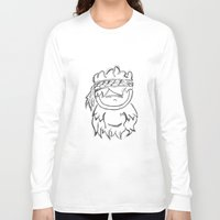 ganesh Long Sleeve T-shirts featuring GANESH by Bowo baghaskara