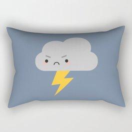 Kawaii Thunder & Lightning Cloud Rectangular Pillow