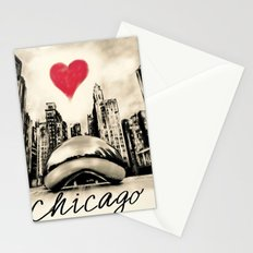 I love Chicago Stationery Cards