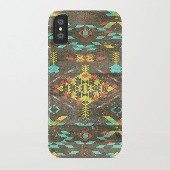 Native Aztec iPhone Case