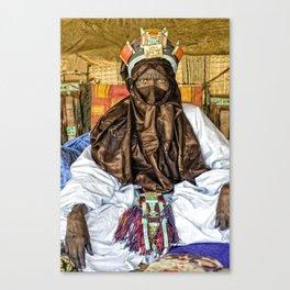 Tuareg elder, Timbuktu, Mali Canvas Print