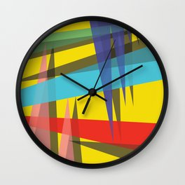 Ambient 19 yellow Wall Clock