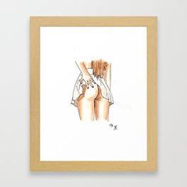Femme 11 Framed Art Print
