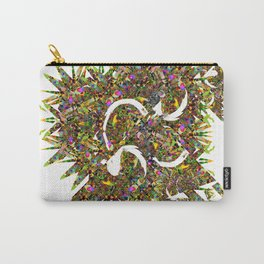 Fractal Mist Carry-All Pouch