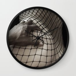 Body Stocking Wall Clock