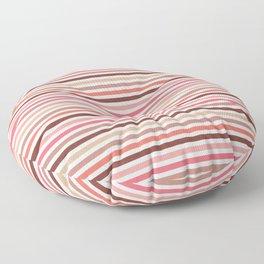 Earthy Stripes Floor Pillow