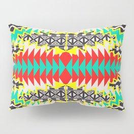 Tribal Beat Geo Neon Pillow Sham