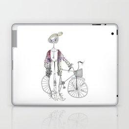 bikegirl Laptop & iPad Skin