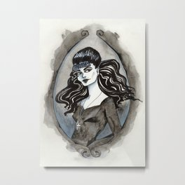 D is for Death Metal Print