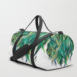 """Spring Forest of Surreal Leaf"" Duffle Bag"